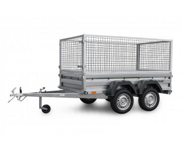 Dvounápravový přívěsný vozík ZASLAW 235T (235x132)