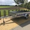 Multifunkční přívěsný vozík NIEWIADOW 305x150 na LISTOVÝCH PÉRECH