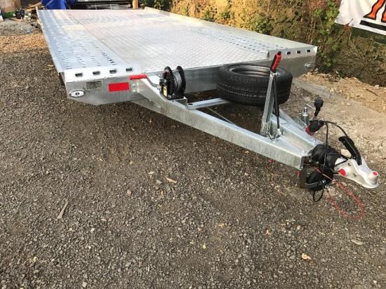 Autopřepravník NIEWIADOW - podvalník 500x210 3 tuny