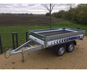 Dvouosý multifunkční vozík LORRIES PB75 (265x150)