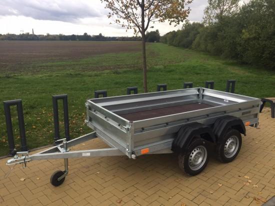 Dvounápravový přívěsný vozík ZASLAW 265T (265x132)