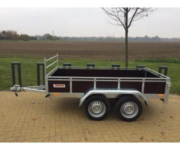 Dvouosý přívěsný vozík TRIGANO TRAILWOOD (255x125X35)