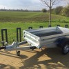Multifunkční bržděný přívěsný vozík ZASLAW 235 SUH (235x132)