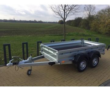 Dvounápravový bržděný přívěsný vozík ZASLAW 265TH (265x132)
