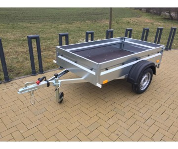 Přívěsný vozík BORO 205x110 - VYŠŠÍ BOČNICE
