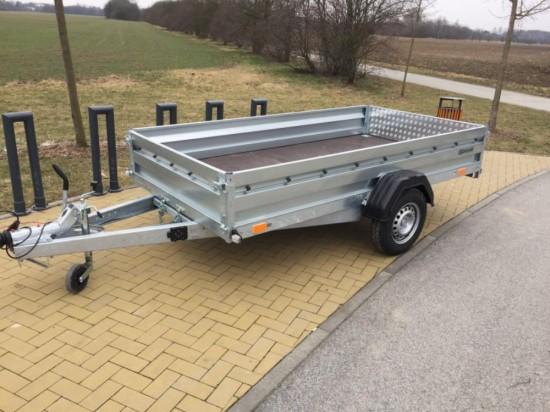 Multifunkční bržděný přívěsný vozík ZASLAW 300SUH (300x147)