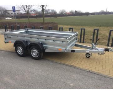 Dvounápravový bržděný přívěsný vozík ZASLAW 300TH (300x147)