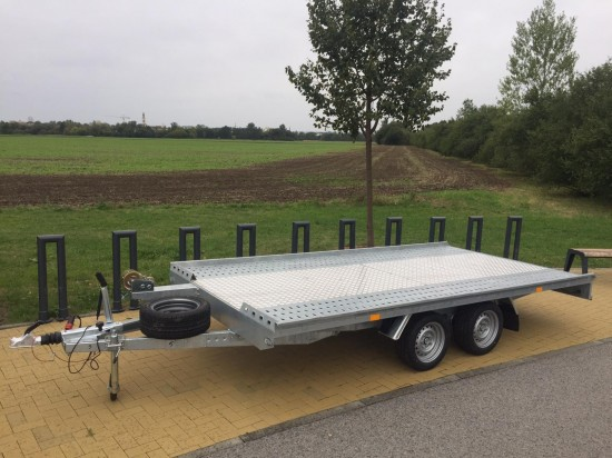 Autopřepravník NIEWIADOW - podvalník 450x210 3 tuny