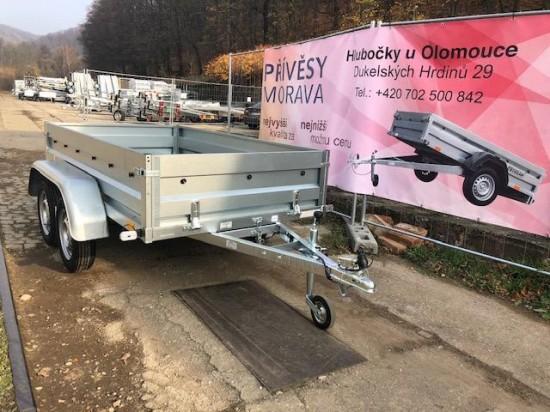 Dvounápravový přívěsný vozík TRIGANO PRO (235x129)