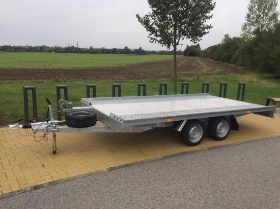 Autopřepravník NIEWIADOW - podvalník 450x210 3,5 tuny