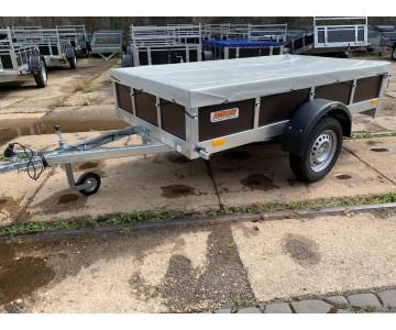 Přívěsný vozík TRIGANO TRAILWOOD (235x125x35) CENA S PLOCHOU PLACHTOU!!!